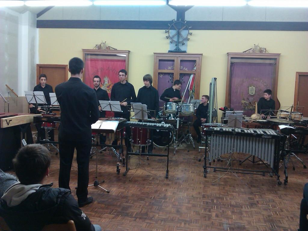 Concierto de Percusión 22/11/2013