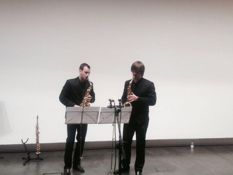 Dúo de Saxofones - Pablo Honrubia y David Castelló