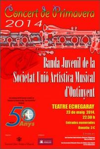 20140523 Cartell Banda Juvenil