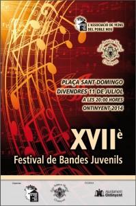 CARTELL-XVII fest. bandes juvenils